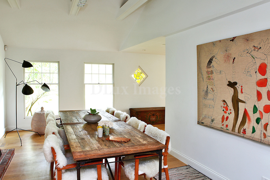 contemporary luxury dining room
