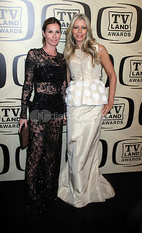 April 14, 2012 Carole Radziwill, Aviva Drescher attends the 10th Anniversary of TV Land Awards  at the Lexington Avenue Armory in New York City..Credit:RWMediapunchinc.com