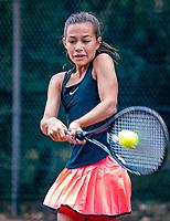 Hilversum, Netherlands, August 8, 2018, National Junior Championships, NJK, Diede van der Gelder (NED)<br /> Photo: Tennisimages/Henk Koster