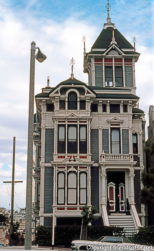 San Francisco Victorian Houses Of Friends Of San Diego Architecture