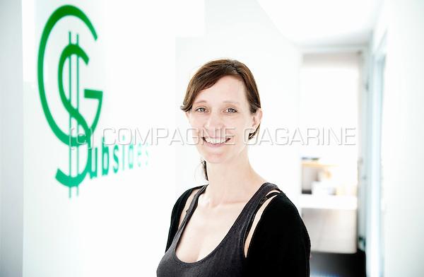 Hélène Delforge, sales manager at GS Subsides (Belgium, 23/07/2015)