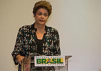 BRASILIA, DF, 03.11.2015 - DILMA-CONSEA- A presidente Dilma Rousseff, participa da abertura da 5ª Conferência Nacional de Segurança Alimentar e Nutricional (Consea), no Centro de Convenções Ulysses Guimarães, nesta terça-feira, 03.(Foto:Ed Ferreira/Brazil Photo Press)