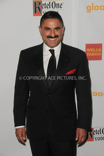WWW.ACEPIXS.COM . . . . .  ....April 21 2012, LA....Reza Farahan arriving at the 23rd Annual GLAAD Media Awards at the Westin Bonaventure Hotel on April 21, 2012 in Los Angeles, California....Please byline: PETER WEST - ACE PICTURES.... *** ***..Ace Pictures, Inc:  ..Philip Vaughan (212) 243-8787 or (646) 769 0430..e-mail: info@acepixs.com..web: http://www.acepixs.com