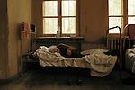 Tbilisi, Georgia Manicomio di Osetiani  CAUCASO.Reportage fotografico sulla malattia.Fotografie scattate in diversi istituti psichiatrici.