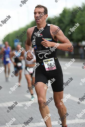 2009-08-02 / Triathlon / Antwerp Iron Man 2009 / Thierry Verbinnen..Foto: Maarten Straetemans (SMB)