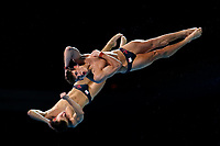 Picture by Alex Whitehead/SWpix.com - 13/04/2018 - Commonwealth Games - Diving - Optus Aquatics Centre, Gold Coast, Australia - Jack and Ross Haslam of England compete in the Men's 3m Synchro Springboard final.