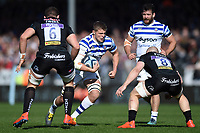 Tom Ellis of Bath Rugby takes on the Exeter Chiefs defence. Gallagher Premiership match, between Exeter Chiefs and Bath Rugby on March 24, 2019 at Sandy Park in Exeter, England. Photo by: Patrick Khachfe / Onside Images