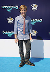 WESTWOOD, CA- SEPTEMBER 07: Actor Nathan Gamble arrives at the Los Angeles premiere of 'Dolphin Tale 2' at Regency Village Theatre on September 7, 2014 in Westwood, California.