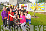 MURAL MURAL ON THE WALL: Children from Rahanoone estate in Tralee are proud of the colourful murals they designed and painted themselves in their estate recently. Pictured were: Richard Horgan, Aislinn McCannon Brosnan, Chloe Murphy, Emma Lonergan, Amy Murphy, Jordan O'Driscoll, Emma Byrne, Richard Hurley, Mary Cahill and Muiríosa Murphy.