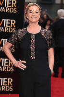 Tamsin Outhwaite arrives for the Olivier Awards 2015 at the Royal Opera House Covent Garden, London. 12/04/2015 Picture by: Steve Vas / Featureflash