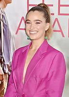 WESTWOOD, CA - MARCH 07: Haley Lu Richardson attends the Premiere Of Lionsgate's 'Five Feet Apart' at Fox Bruin Theatre on March 07, 2019 in Los Angeles, California.<br /> CAP/ROT/TM<br /> &copy;TM/ROT/Capital Pictures