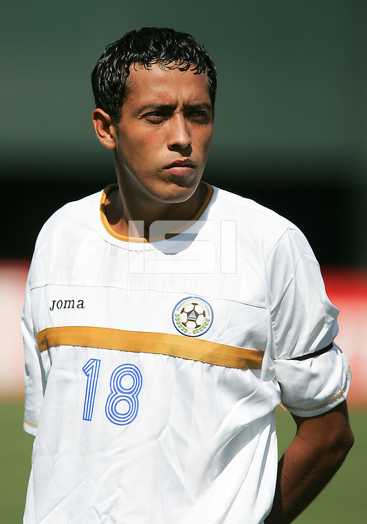 Marlon Medina. Mexico defeated Nicaragua 2-0 during the First Round of the 2009 CONCACAF Gold Cup at the Oakland, Coliseum in Oakland, California on July 5, 2009.