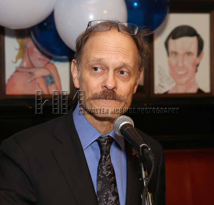 David Hyde Pierce attends The Broadway League and the Coalition of Broadway Unions and Guilds (COBUG) presents the 9th Annual Broadway Salutes at Sardi's on November , 2017 in New York City.