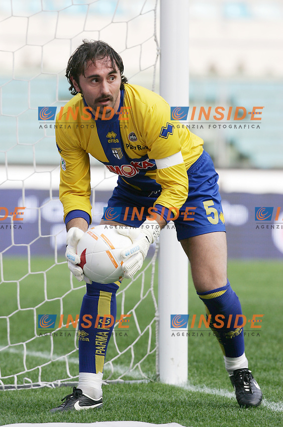 Luca Bucci (Parma)<br /> Italian &quot;Serie A&quot; 2006-07<br /> 11 Feb 2007 (Match Day 23)<br /> Roma-Parma (3-0)<br /> &quot;Olimpico&quot;-Stadium-Roma-Italy<br /> Photographer: Andrea Staccioli INSIDE