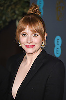 Bryce Dallas Howard<br /> at the 2017 BAFTA Film Awards After-Party held at the Grosvenor House Hotel, London.<br /> <br /> <br /> &copy;Ash Knotek  D3226  12/02/2017