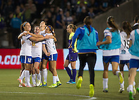 Portland, Oregon - Thursday, Oct. 1, 2015: FC Kansas City defeated the Seattle Reign 1-0 to win the 2015 NWSL Championship.
