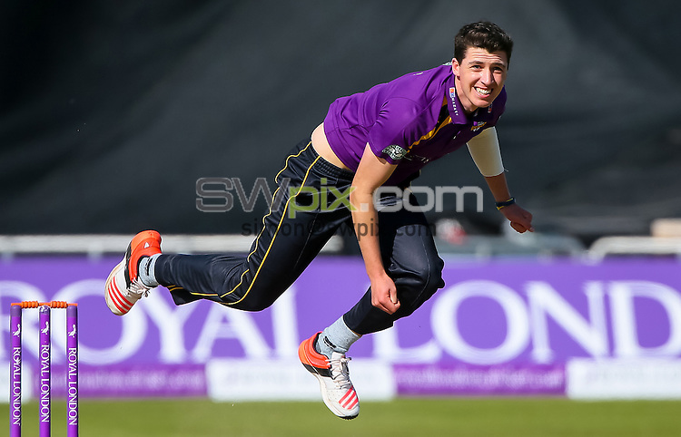 Picture by Alex Whitehead/SWpix.com - 06/09/2015 - Cricket - Royal London One-Day Cup, Semi-Final - Yorkshire CCC v Gloucestershire CCC - Headingley Cricket Ground, Leeds, England - Yorkshire's Matthew Fisher bowls.