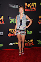 "Audrey Whitby<br /> at the premiere of ""Star Wars Rebels,"" AMC Century City, Century City, CA 09-27-14<br /> David Edwards/DailyCeleb.com 818-915-4440"