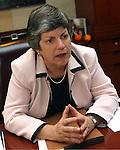 Janet Napolitano Homeland Securiity Director.Photo by AJ Alexander