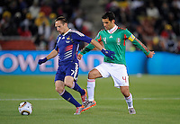 Franck Ribery of France and Rafael Marquez of Mexico