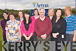 Staff at Aetna global benefits in Castleisland rasied funds for the Kerry branch of the Irish Cancer Society through work fund-raisers including  a dress down week and a raffle. Staff from the company each year support local charities including the cancer society. .Back L-R Selina O'Connor, Diane Cleary, Helene O'Sullivan and Laura Carmody. .Front L-R Margaret Scanlon, Elaine Carey, Treasurer of the Irish Cancer Society Tim Moriarty, Chair of the Aetna fund-raising committee Miriam Heylin and Secretary of the Kerry branch of the Irish Cancer society Kathrina Breen,