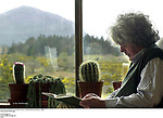 Kerry Writer John Moriarty pictured at home in Coolies, Muckross, Killarney in 2006.<br /> Picture by Don MacMonagle<br /> <br /> &copy; macmonagle.com<br /> email: info @macmonagle.com