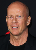 HOLLYWOOD, LOS ANGELES, CA, USA - AUGUST 19: Bruce Willis at the Los Angeles Premiere Of Dimension Films' 'Sin City: A Dame To Kill For' held at the TCL Chinese Theatre on August 19, 2014 in Hollywood, Los Angeles, California, United States. (Photo by Xavier Collin/Celebrity Monitor)