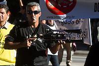 SAO PAULO 04 DE JULHO DE 2013 - Manifestacao da Policia Civil de Sao Paulo bloqueia parte da Av Paulista na tarde desta quarta-feira(04). (Foto: Amauri Nehn/Brazil Photo Press)