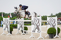 BEL-Bart Clarys (ESPRIT DS) FINAL-3RD: CSI3* TABLE A AGAINST THE CLOCK WITH JUMP OFF (145cm): Small Grand Prix - Qalifier for Grand Prix: 2014 BEL-Bonheiden CSI1*/CSI3* (Saturday 28 June) CREDIT: Libby Law COPYRIGHT: LIBBY LAW PHOTOGRAPHY - NZL