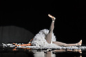Les Ballets Trockadero de Monte Carlo (The Trocks) return to the UK and recives their Ireland premiere during an eight-wekk, twelve venue tour, that opens at the Peacock , London, on 12th September, and concludes at the Grand Opera House, Belfast, on 3rd November. the dancers are: Joshua Thake (Eugenia Repelski), Jack Furlong Jr (Guzella Verbitskaya), Alberto Pretto (Nina Immobilashvili), Roberto Vega (Mikhail Mypansarov), Kevin Garcia (Sergey Legupski), Duane Gosa (Helen Highwaters). Picture shows: Duane Gosa (Helen Highwaters) performing the Dying Swan.