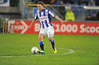 VOETBAL: ABE LENSTRA STADION: HEERENVEEN: 30-11-2013, SC Heerenveen - Go Ahead Eagles, uitslag 3-1, Magnus Eikrem (#18 | SCH), ©foto Martin de Jong