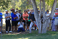 James Nitties (AUS) in action on the 2nd during the Matchplay Final of the ISPS Handa World Super 6 Perth at Lake Karrinyup Country Club on the Sunday 11th February 2018.<br /> Picture:  Thos Caffrey / www.golffile.ie<br /> <br /> All photo usage must carry mandatory copyright credit (&copy; Golffile   Thos Caffrey)