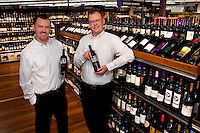 New Bloom Assistant Dry Manager Jeff Estes and Grocery Manager Mark Church.