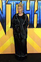 Emeli Sande at the Black Panther European Premiere at the Eventim Apollo, Hammersmith, London on Thursday 8th February 2018<br /> CAP/ROS<br /> CAP/ROS<br /> &copy;ROS/Capital Pictures