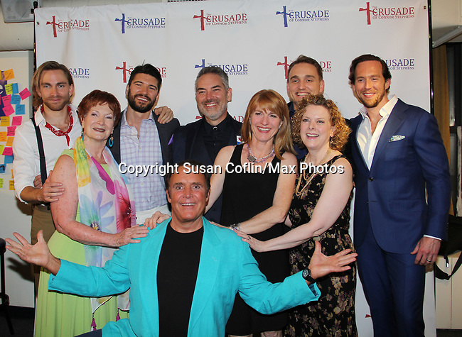 All My Children's James Kiberd and cast star in The Crusade of Connor Stephens - One Family Under God, Divisible. on opening night at Jerry Orbach Theatre at the Snapple Theatre Center, New York City, New York on June 26, 2017. (Photo by Sue Coflin/Max Photos)