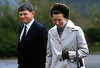Donagh O'Neill, principal, Enniskillen Agricultural College, with the Princess Royal, Princess Anne, during her May 1985 Royal Visit to N Ireland. 19850503DON2..Copyright Image from Victor Patterson, 54 Dorchester Park, Belfast, UK, BT9 6RJ..Tel: +44 28 9066 1296.Mob: +44 7802 353836.Voicemail +44 20 8816 7153.Skype: victorpattersonbelfast.Email: victorpatterson@me.com.Email: victorpatterson@ireland.com (back-up)..IMPORTANT: If you wish to use this image or any other of my images please go to www.victorpatterson.com and click on the Terms & Conditions. Then contact me by email or phone with the reference number(s) of the image(s) concerned.