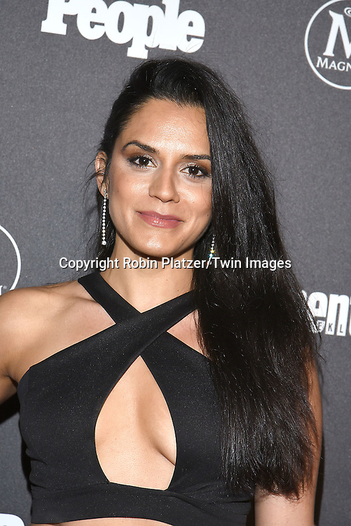 Sepideh Moafi attends the Entertainment Weekly &amp; PEOPLE Magazine New York Upfronts Celebration on May 16, 2016 at Cedar Lake in New York, New York, USA.<br /> <br /> photo by Robin Platzer/Twin Images<br />  <br /> phone number 212-935-0770
