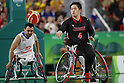 Reo Fujimoto (JPN),<br /> SEPTEMBER 10, 2016 - Wheelchair Basketball : <br /> Preliminary Round Group A<br /> match between Japan - Netherlands<br /> at Rio Olympic Arena<br /> during the Rio 2016 Paralympic Games in Rio de Janeiro, Brazil.<br /> (Photo by Shingo Ito/AFLO)