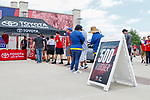 FRISCO TEXAS, May 12: University of North Texas FC Dallas play L.A. Galaxy in Toyota Stadium in Frisco, Texas on May 12, 2018 (Photo Rick Yeatts Photography/Colin Mitchell)