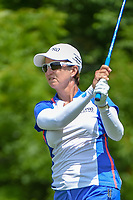 Karrie Webb (AUS) watches her tee shot on 11 during round 1 of the 2018 KPMG Women's PGA Championship, Kemper Lakes Golf Club, at Kildeer, Illinois, USA. 6/28/2018.<br /> Picture: Golffile | Ken Murray<br /> <br /> All photo usage must carry mandatory copyright credit (&copy; Golffile | Ken Murray)