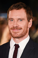 "Michael Fassbender<br /> at the premiere of ""The Light Between Oceans"" at the Curzon Mayfair, London.<br /> <br /> <br /> ©Ash Knotek  D3184  19/10/2016"