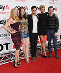 "Patricia Clarkson,Emma Stone,Penn Badgley,Aly Michalka & Dan Byrd at the Screen Gems' L.A. Premiere of ""Easy A"" held at The Grauman's Chinese Theatre in Hollywood, California on September 13,2010                                                                               © 2010 Hollywood Press Agency"