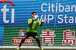 Wallsend Boys Club vs Kowloon Cricket Club Veterans during the Day 2 of the HKFC Citibank Soccer Sevens 2014 on May 24, 2014 at the Hong Kong Football Club in Hong Kong, China. Photo by Xaume Olleros / Power Sport Images