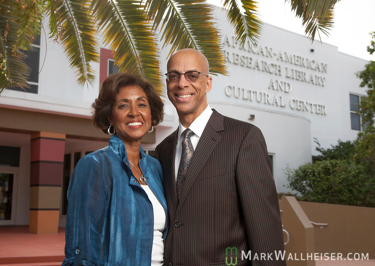 Attorney Eugene Pettis  at the African-American Research Library and Cultural Center in Ft. Lauderdale, Floida  April  11, 2013.  Pettis is the incoming president of the Florida Bar...