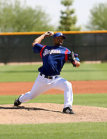 Justin Gutsie / Texas Rangers 2008 Instructional League..Photo by:  Bill Mitchell/Four Seam Images