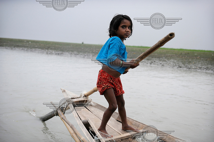 Due to overpopulation, poverty and a combination of natural phenomenon, such as land erosion and increased frequency of cyclones and floods, many people in Bangladesh's delta region have lost their homes. Some families have made their fishing boats their homes, living in the lagoons and commuting between the islands and the mainland. The communities of River Gypsies are looked down upon by land-dwelling communities, and due to their semi-nomadic way of life, it is difficult for NGOs to build projects for their needs. Their children do not go to school, working instead alongside the adults on the fishing boats...