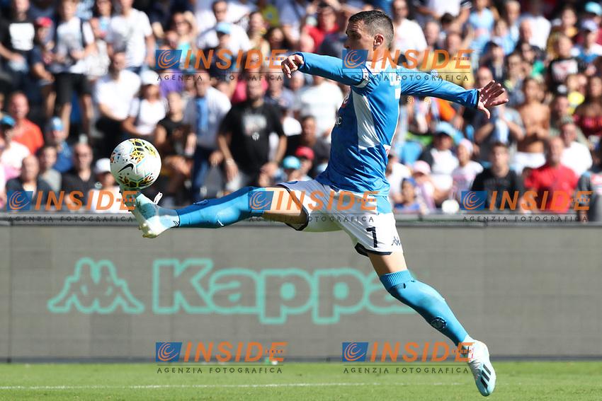 Jose Callejon of Napoli in action<br /> Napoli 29-9-2019 Stadio San Paolo <br /> Football Serie A 2019/2020 <br /> SSC Napoli - Brescia FC<br /> Photo Cesare Purini / Insidefoto