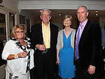 Mary Maguffin, John Menton, Mary and Pat Shanley pictured at Shirley Ryan's 50th birthday in the Glenside hotel. Photo: Colin Bell/pressphotos.ie