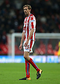 9th December 2017, Wembley Stadium, London England; EPL Premier League football, Tottenham Hotspur versus Stoke City; Peter Crouch of Stoke City looks on