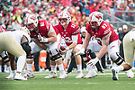 Wisconsin Badgers quarterback Alex Hornibrook (12) during an NCAA College Big Ten Conference football game against the Purdue Boilermakers Saturday, October 14, 2017, in Madison, Wis. The Badgers won 17-9. (Photo by David Stluka)